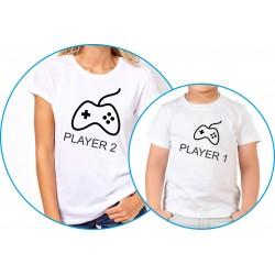 player 1, player 2