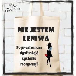 NIE JESTEM LENIWA...