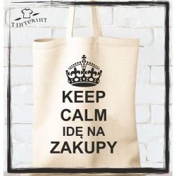 Keep calm idę na zakupy