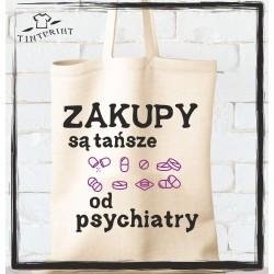 Zakupy są tańsze od psychiatry