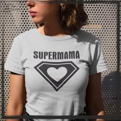 PREZENT DLA MAMY KOSZULKA Z NADRUKIEM SUPERMAMA