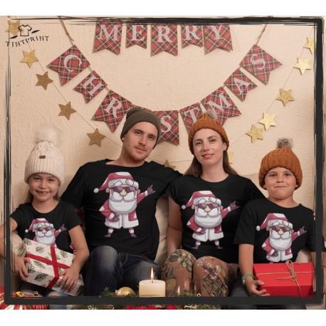 Zestaw koszulek Mikołaj 2