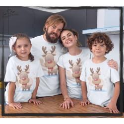 Zestaw koszulek Renifer 7
