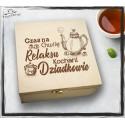 Pudełko Herbat CZAS NA CHWILĘ RELAKSU KOCHANI DZIADKOWIE