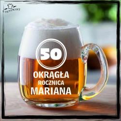 50 okrągła rocznica mariana KUFEL Z GRAWEREM