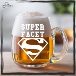 SUPER FACET KUFEL Z GRAWEREM