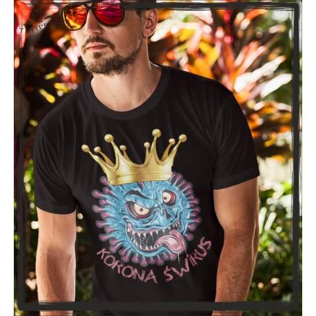 Korona Świrus koszulka z nadrukiem