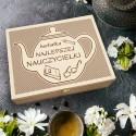 Pudełko Herbat HERBATKA NAJLEPSZEJ NAUCZYCIELKI