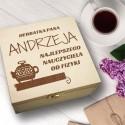 Pudełko Herbat HERBATKA (IMIĘ) NAJLEPSZEGO NAUCZYCIELA OD...