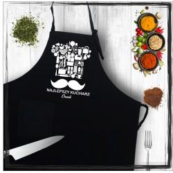 Fartuch - najlepszy kucharz (imię)