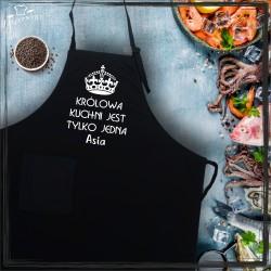 Fartuch - królowa kuchni jest tylko jedna (imię)