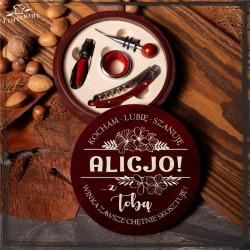 Alicjo - z Tobą winka zawsze chetnie skosztuję