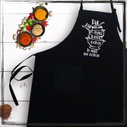 Fartuch - Tak jak mam (imię) gotuje to nikt nie gotuje