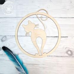 Kot Obręcz, koło, baza do łapacza