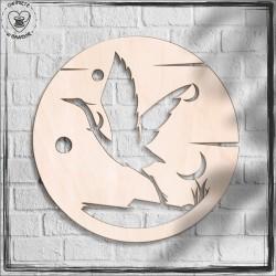 Ptak Obręcz, koło, baza do łapacza