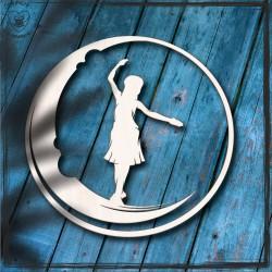 Dziewczynka na księżycu Obręcz, koło, baza do łapacza