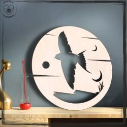 Ptak 2 Obręcz, koło, baza do łapacza