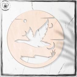 Ptak 3 Obręcz, koło, baza do łapacza