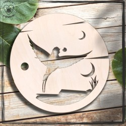 Ptak 4 Obręcz, koło, baza do łapacza
