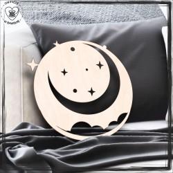 Księżyc i gwiazdy Obręcz, koło, baza do łapacza