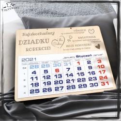 Najukochańszy dziadku - kalendarz
