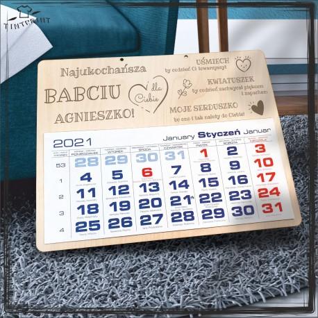 Najukochańsza babciu - kalendarz