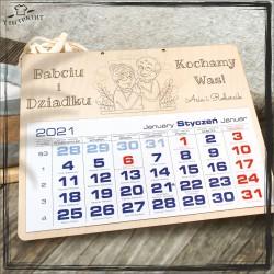 Babciu i dziadku ... - kalendarz