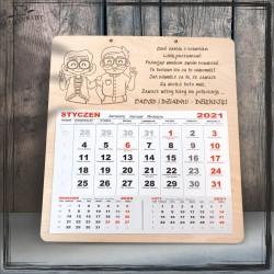 Choć babcia z dziadkiem - kalendarz