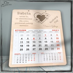 Babcia widzi co niewidoczne - kalendarz