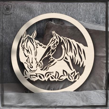 Konie Obręcz, koło, baza do łapacza
