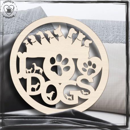 Love dogs Obręcz, koło, baza do łapacza