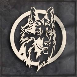 Pies Obręcz, koło, baza do łapacza