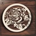 Róża Obręcz, koło, baza do łapacza
