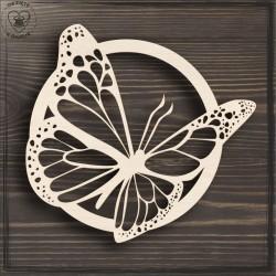 Motyl 3 Obręcz, koło, baza do łapacza