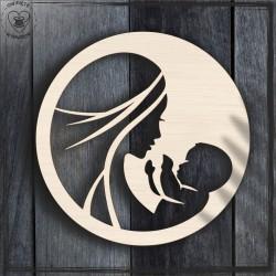 Mama i dziecko 8 Obręcz, koło, baza do łapacza