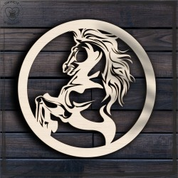 Koń 1 Obręcz, koło, baza do łapacza