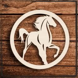 Koń 2 Obręcz, koło, baza do łapacza