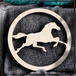 Koń 3 Obręcz, koło, baza do łapacza