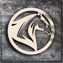 Koń 6 Obręcz, koło, baza do łapacza
