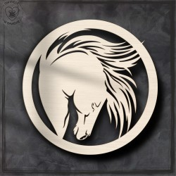 Koń 7 Obręcz, koło, baza do łapacza