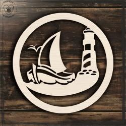 łódka Obręcz, koło, baza do łapacza