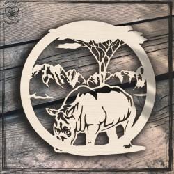 Nosorożec Obręcz, koło, baza do łapacza