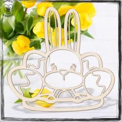 Baza wielkanocna- zając z jajkami