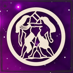 Obręcz- znak zodiaku Bliźnięta