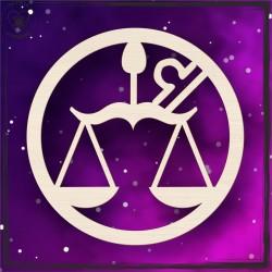 Obręcz- znak zodiaku Waga