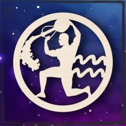 Obręcz- znak zodiaku Wodnik