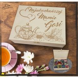 Pudełko Herbat Najukochańszej Mamie (imię)
