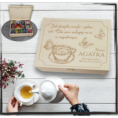 Pudełko Herbat Jak skrzydła motyla...
