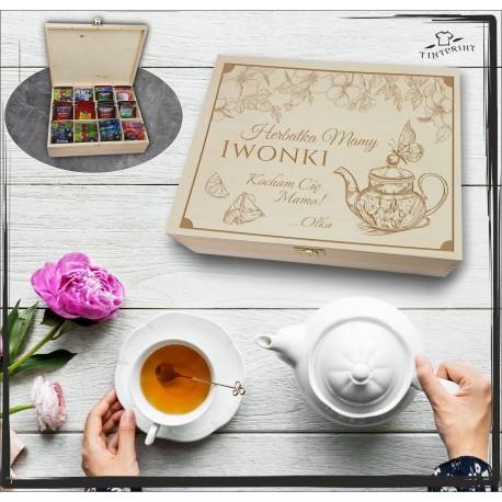 Pudełko Herbat Herbatka Mamy (imię) ...