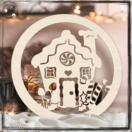 Baza świąteczna domek